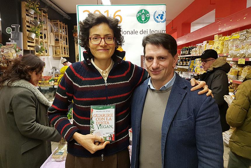 La dottoressa De Petris in Calabria: il cibo sano è terapeutico