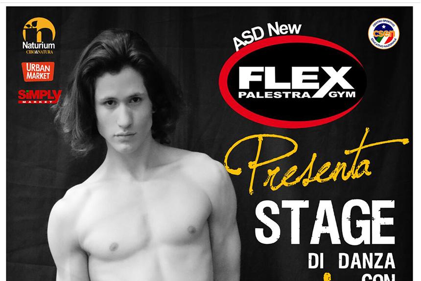 """Soverato, il 26 luglio stage di danza con il talentuoso Sebastian di """"Amici"""""""